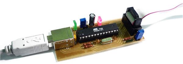 USB AVR программатор USBasp